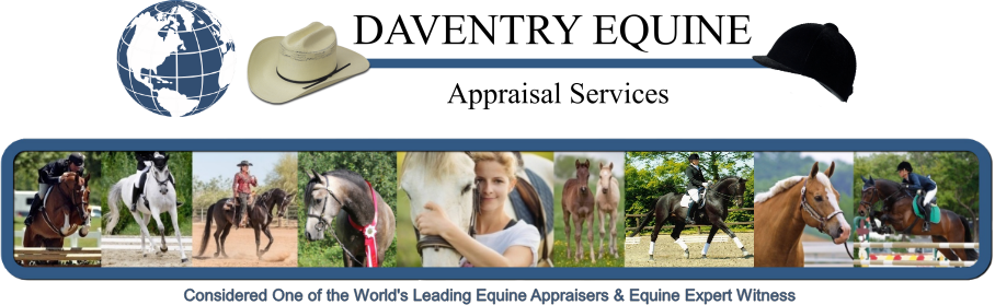 North Americas #1 Equine Appraiser and Equine Expert Witness